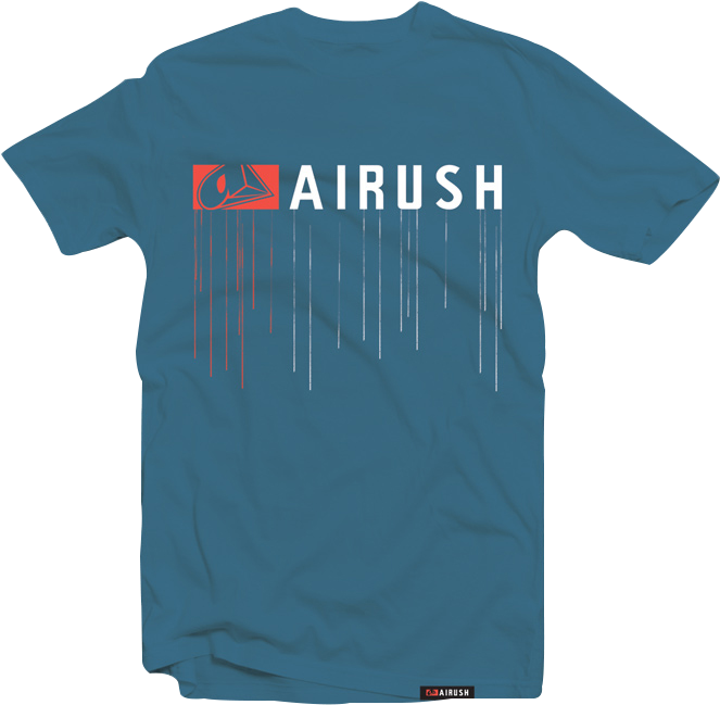 Drip Tee 1 - Airush Clipart (802x827), Png Download