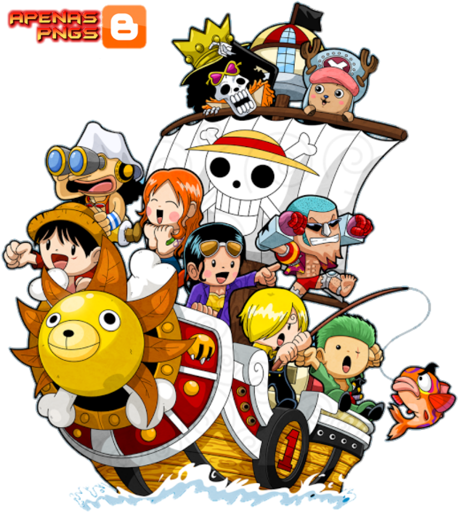 Zoro Namy Robin Franky Sanji Brook Usoop Chooper One Piece Hd Wallpaper For Android Clipart Large Size Png Image Pikpng