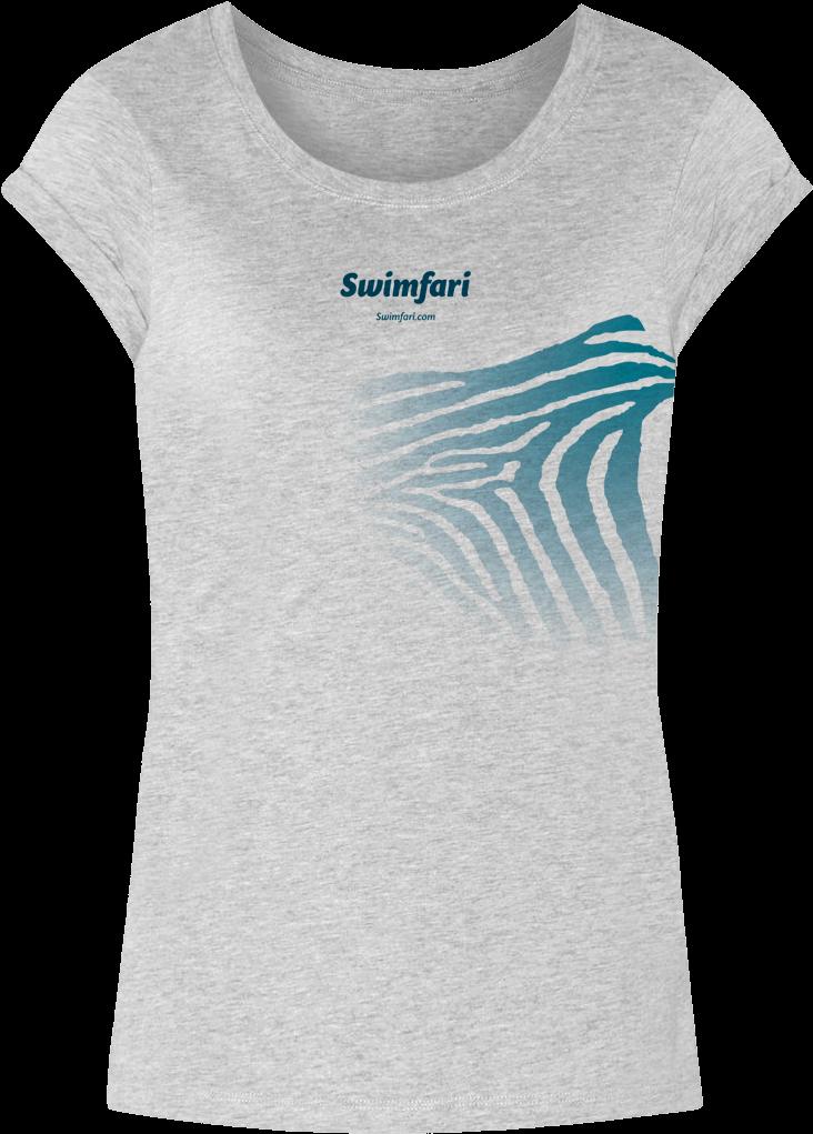 Original Swimfari T-shirt - Active Shirt Clipart (1200x1200), Png Download