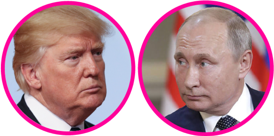 Avaaz Report On Trump - Donald Trump Britain First Clipart (939x460), Png Download