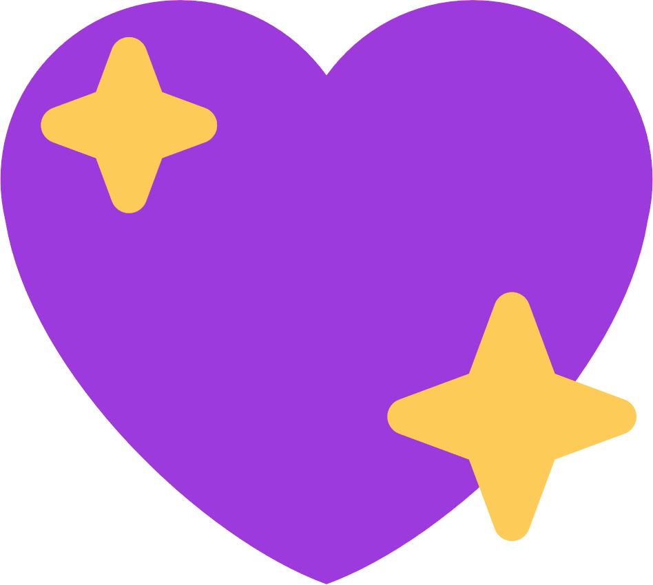 Et Elle Est Trop Bien Agnagnagnagna 🦈 - Sparkle Heart Emoji Twitter Clipart (948x850), Png Download