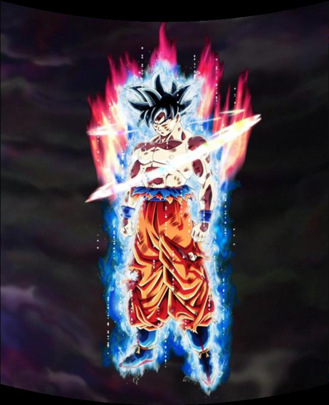 Full Body Ultra Instinct Goku Clipart - Large Size Png ...