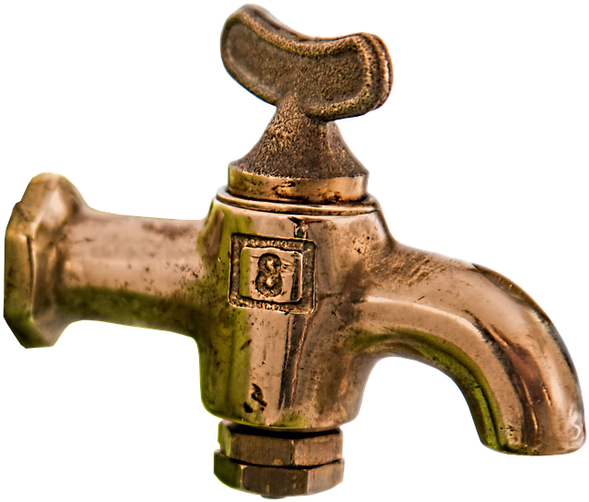 Tap Brass Brass Faucet Faucet Isolated - Tap Png Clipart (773x720), Png Download