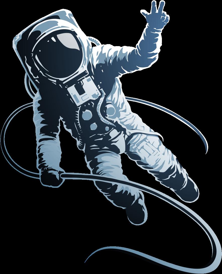 Astronaut In Fortnite - Transparent Astronaut Illustration ...