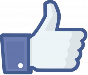 #facebook #logo #icon #like #instagram #youtube - Facebook Like Png Clipart (300x257), Png Download
