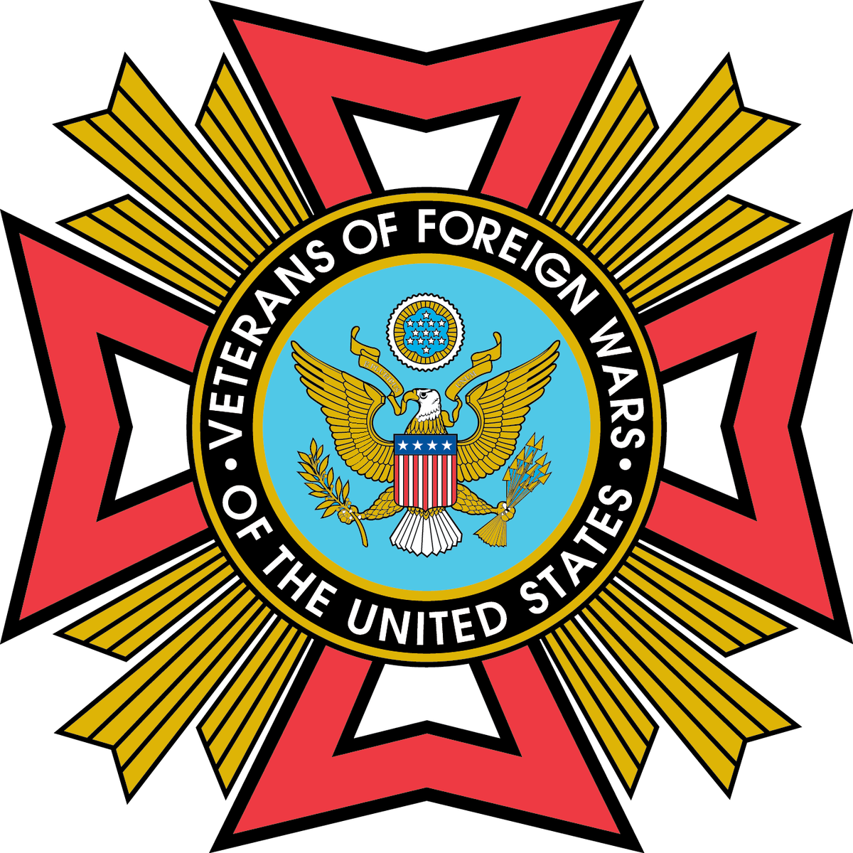Vfw Logo Png - High Resolution Vfw Logo Clipart (1200x1200), Png Download