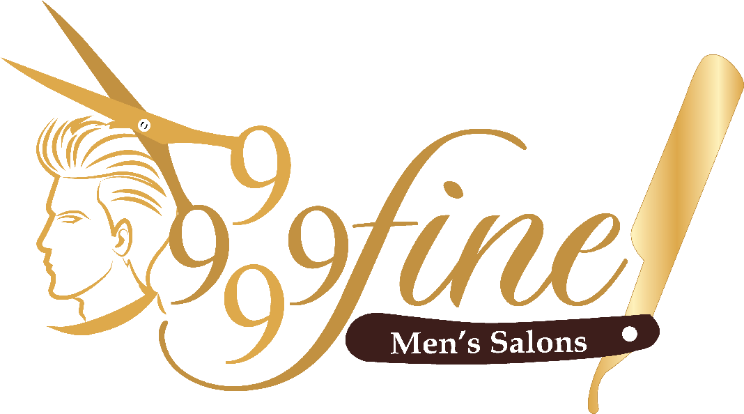 4 9s Fine Mens Salon Mens Salon Logo Design Clipart Large Size Png Image Pikpng
