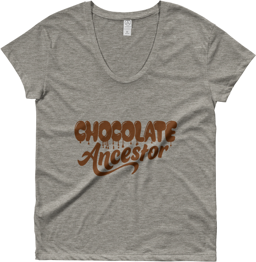 Chocolate Ancestor, Llc- Dripping Chocolate Ancestor - Active Shirt Clipart (849x867), Png Download