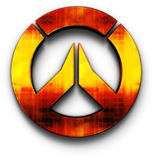 Red Overwatch Logo Png Clipart - Large Size Png Image - PikPng