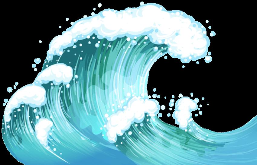Download Ocean Wave Transparent - Boy Surfing Clipart Png ...