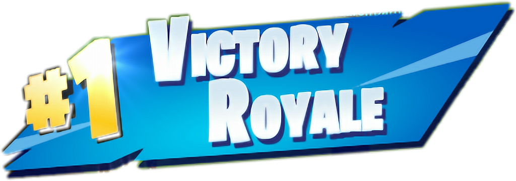Download 1 Sticker - Fortnite Victory Royale Png Clipart ...