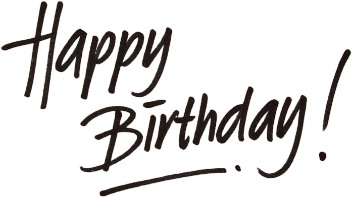 Happy Birthday Png Tumblr - Happy Birthday February 9th Clipart (800x480), Png Download