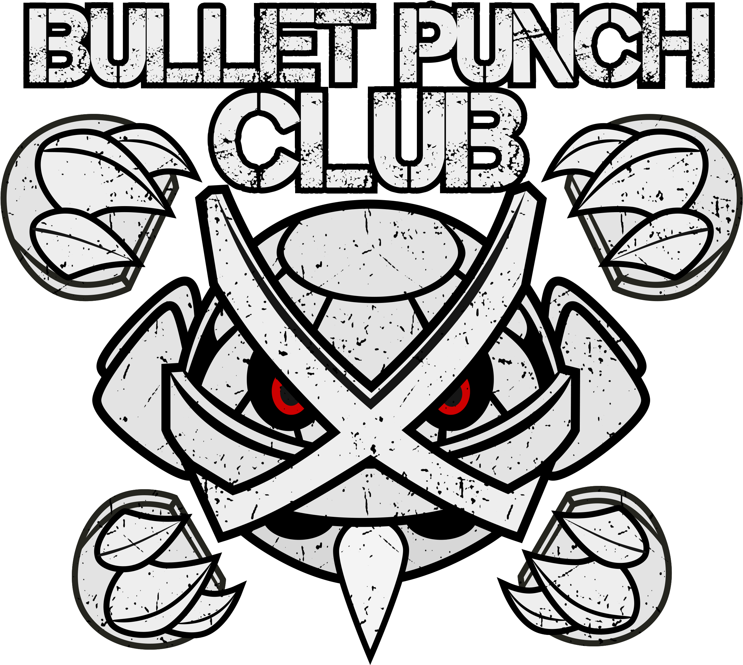 Bullet Punch Club - Illustration Clipart (2500x2500), Png Download