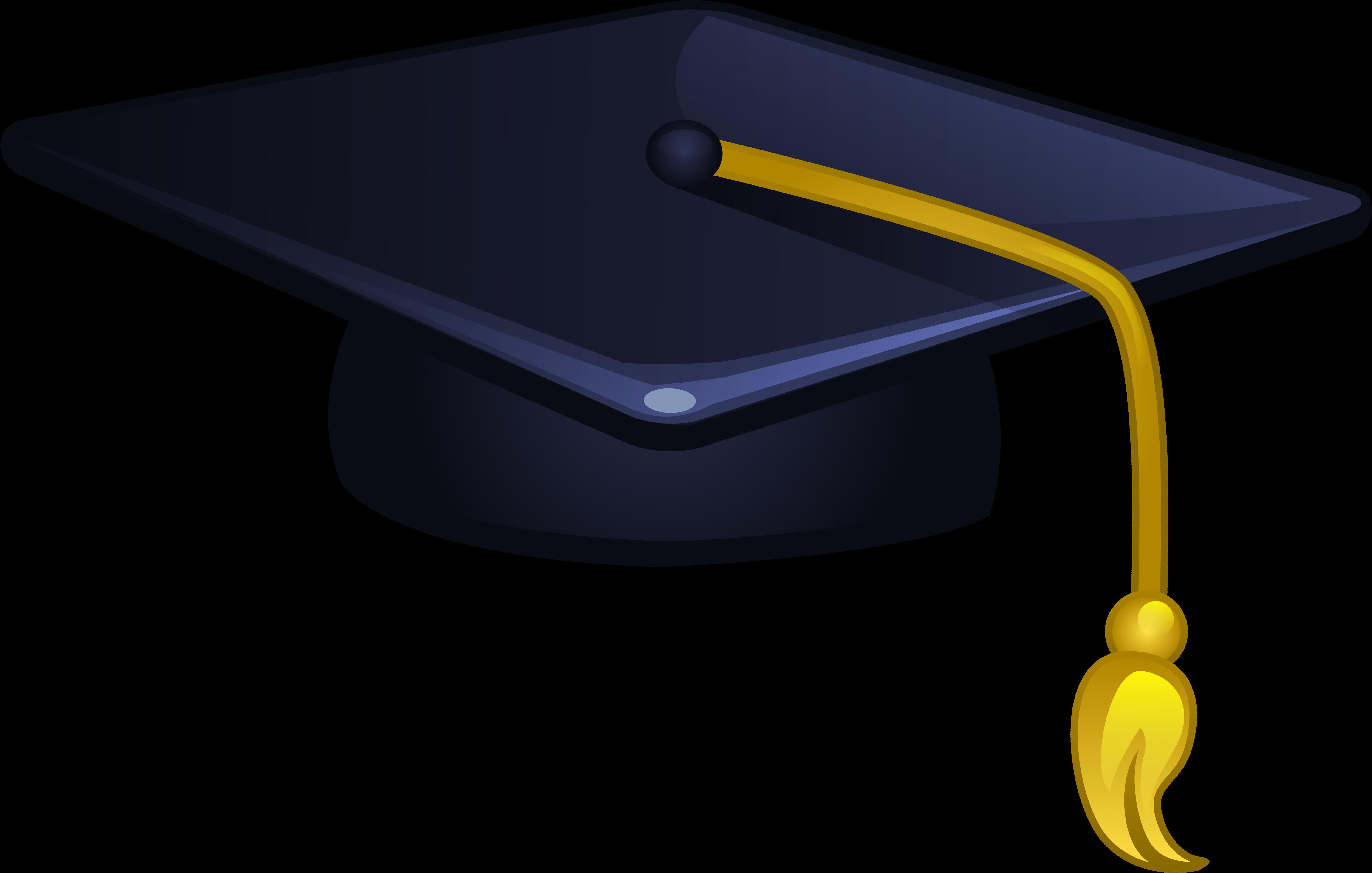 Transparent Graduation Cap Blue Clipart - Large Size Png ...
