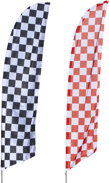 Checkered Flag Banner - Koinobori Clipart - Large Size Png ...