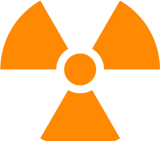 Biohazard Symbol Clipart Radioactive - Radiation Symbol No Background - Png Download (640x480), Png Download
