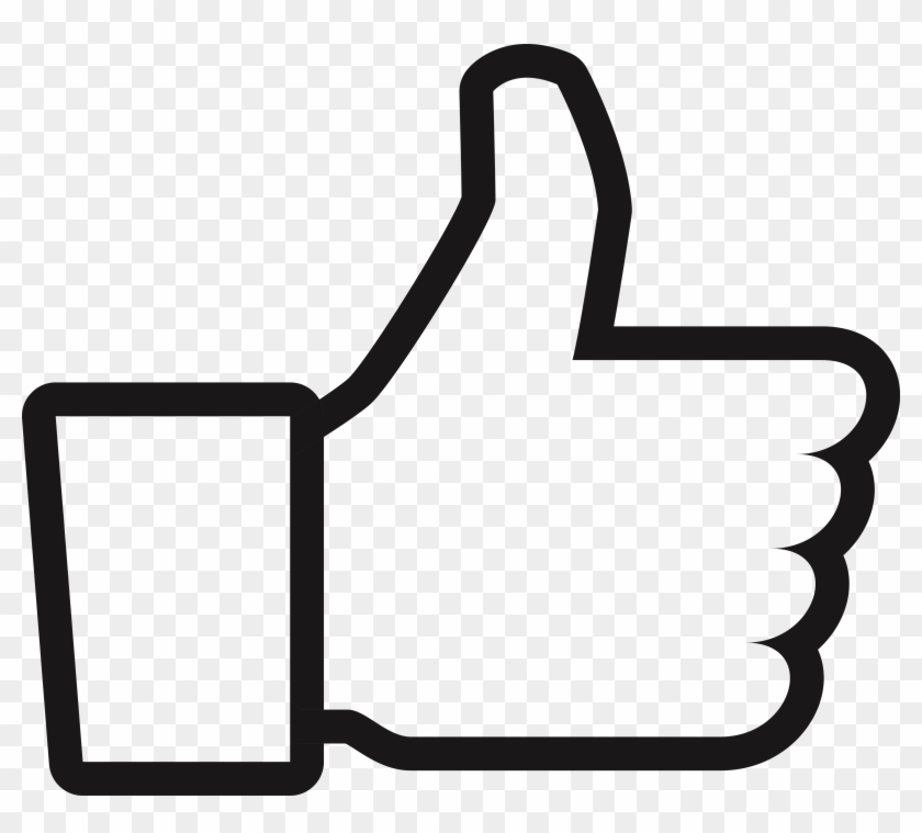 Like Button Youtube Png - Youtube Like Button Png Clipart #1793