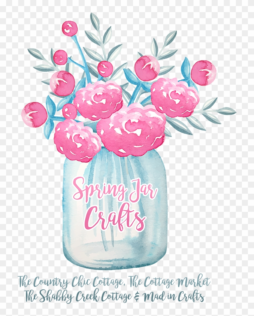 Banner Library Library No Bake Tagalong Parfaits In - Spring Watercolor Flowers Printable Clipart #3718