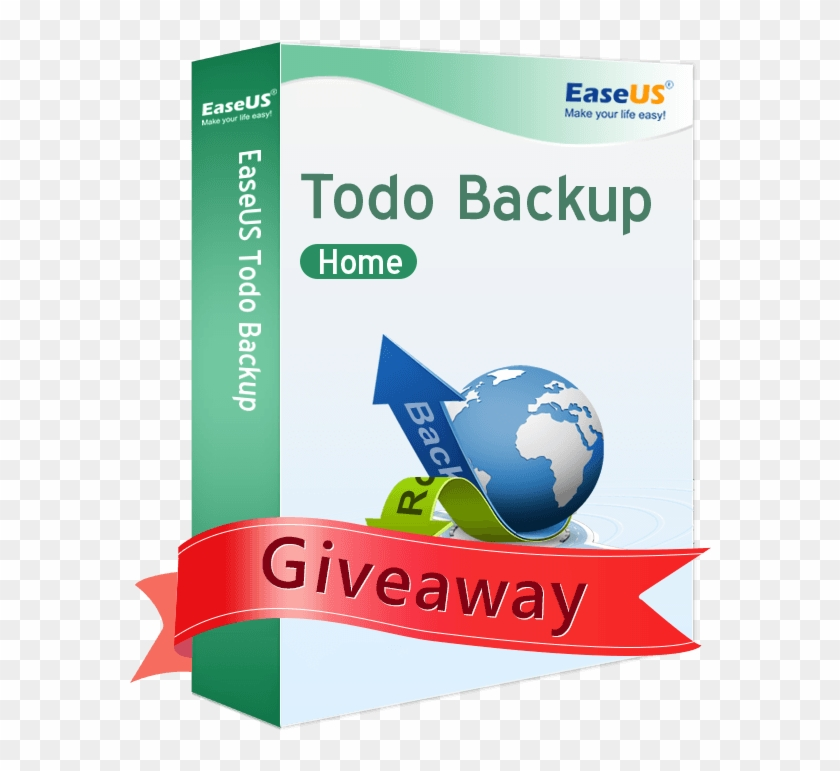 Giveaway Easeus Todo Backup Home Giveaway Version Limitations - Graphic Design Clipart #4045