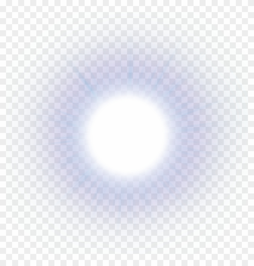 Light Blue Sun Glare Flare Effects Effect Png - Transparent Sun Glare Png Clipart #5133
