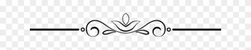 Decorative Line Gold Clipart Png - Line Art Transparent Png #6155
