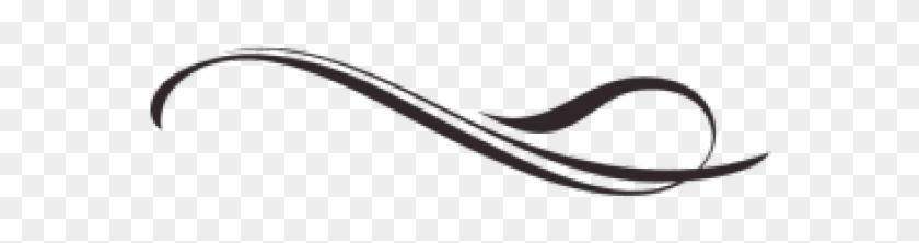 Fancy Line Transparent Back Rh Airfreshener Club Transparent - Decorative Line Png Clipart #7291