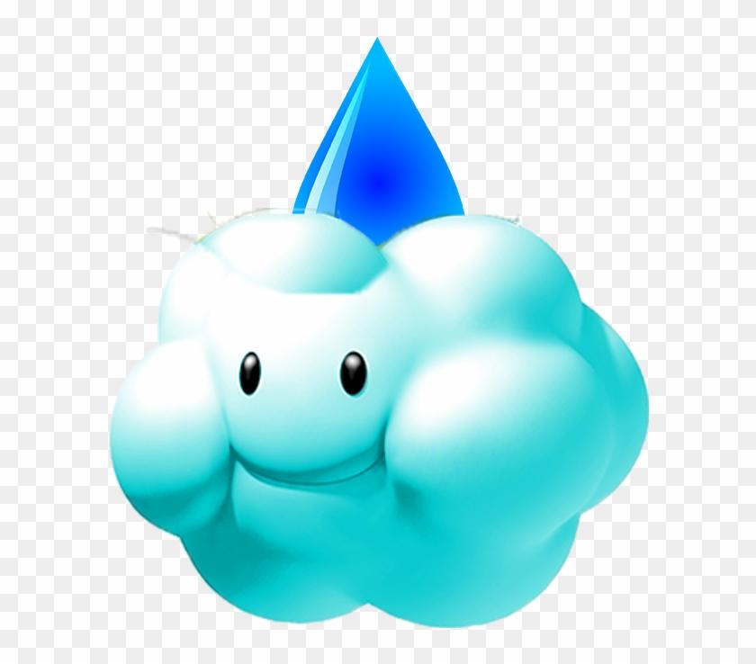 Mario Kart Snow Cloud , Png Download Clipart #7428
