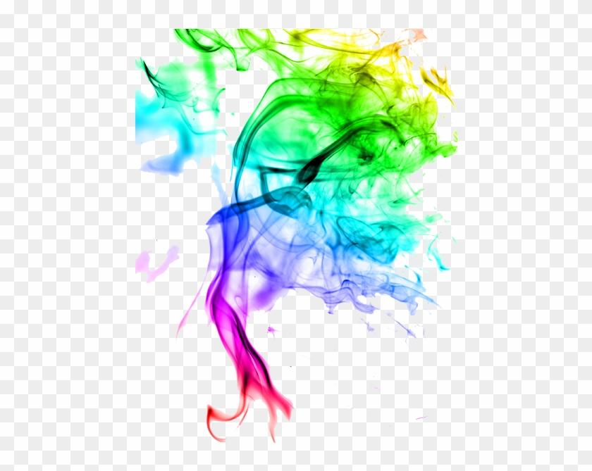 Colour Smoke Effect Png - Png Hd Colour Effect Clipart #7479