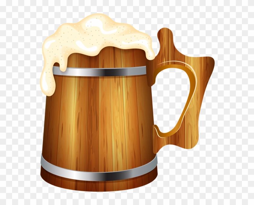 Wooden Beer Mug Png Clip Art Image - Wooden Beer Mug Clipart Transparent Png #8546