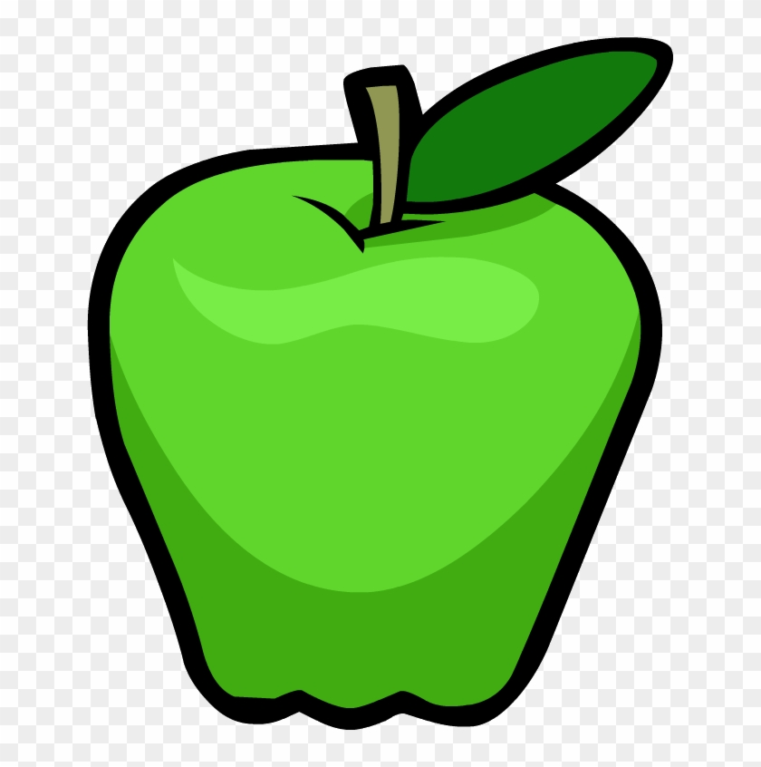 Smoothie Smash Green Apple - Clip Art Green Apple - Png Download #12165