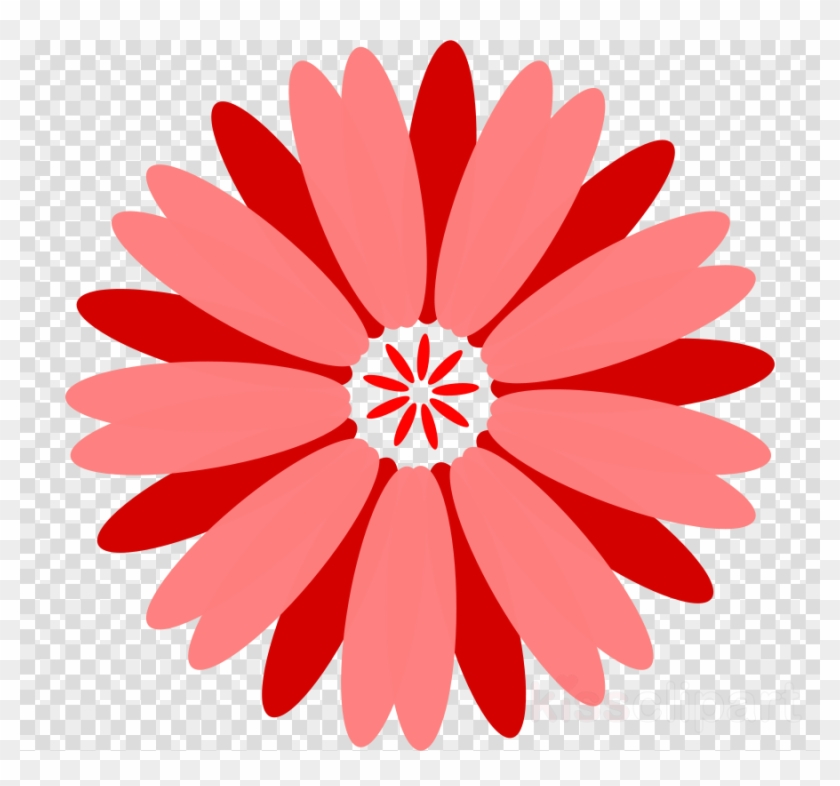 Red Flower Vector Png Clipart Floral Bouquets Clip - Flower Clipart High Resolution Transparent Png #13926