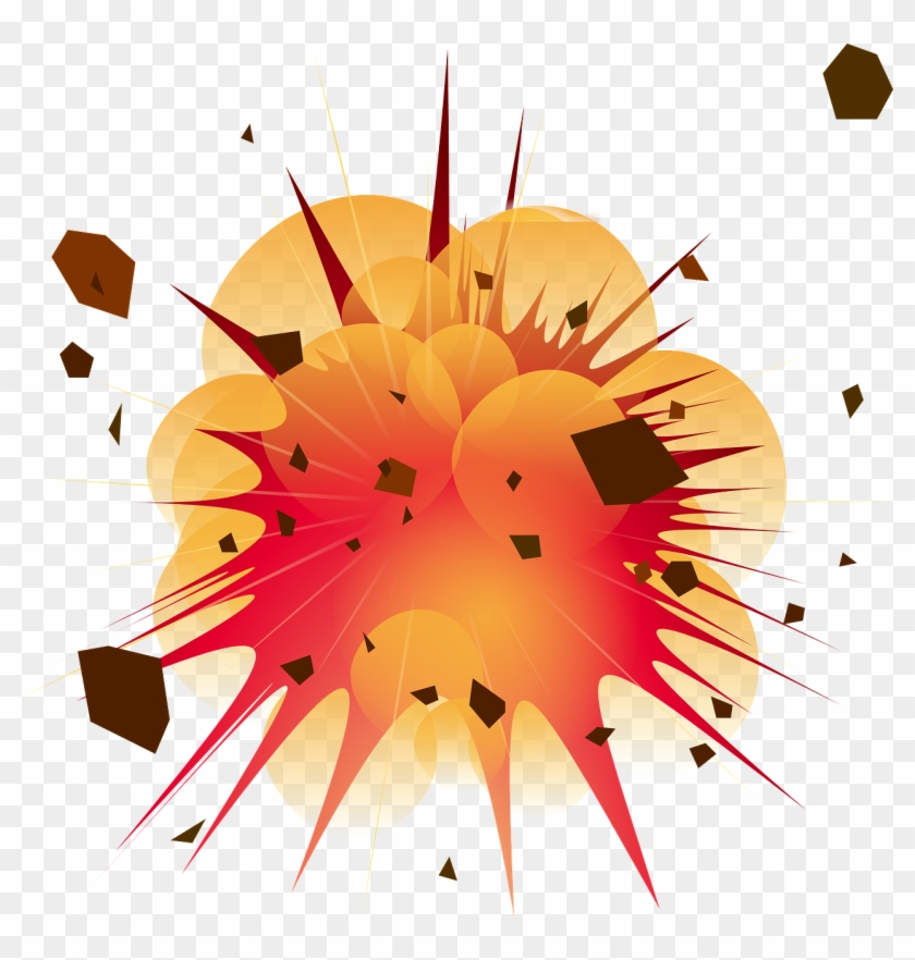 nuclear explosion clipart grenade - explosion clip art - png download  (#14409) - pikpng  pikpng
