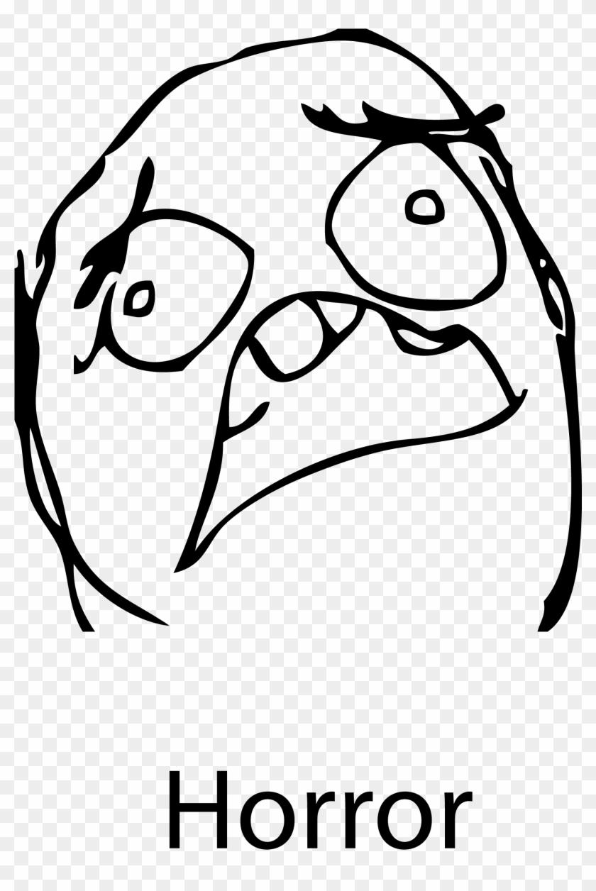 Download Comic Internet Meme Face Troll Face Image - Rage Comics Why Face Clipart #14515