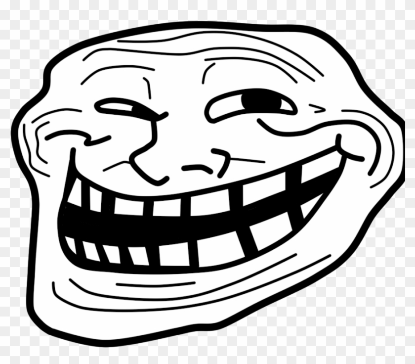 Troll Face Png Clipart #15704