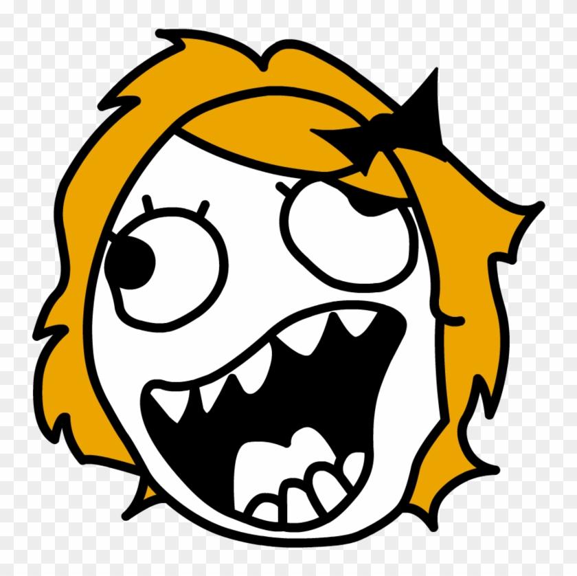 Meme Faces No Background - Troll Face Meme Png Clipart #15795