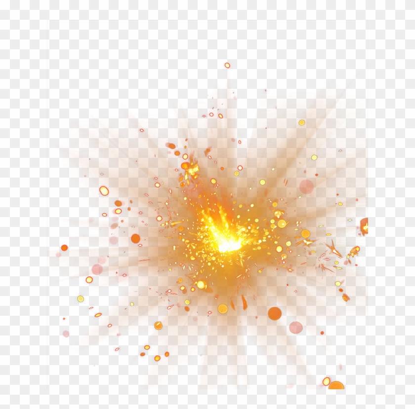 Spot Explosion Effect Light Png File Hd Clipart - Fire Sparks Png Transparent Png #19014