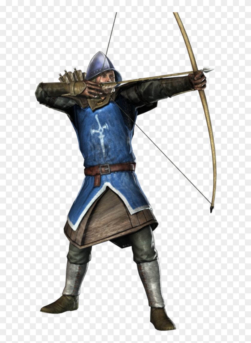 Knight With Bow And Arrow , Png Download Clipart #19105