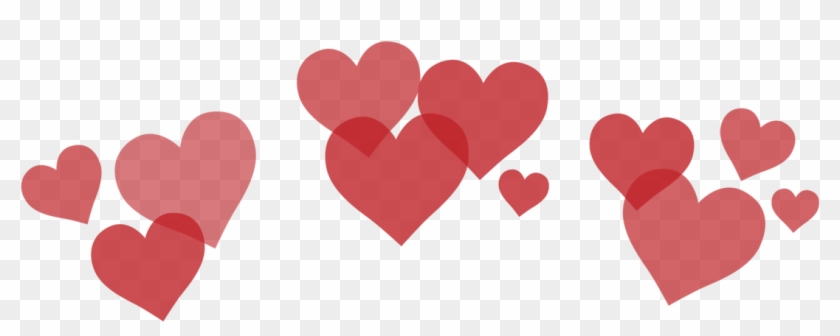 Tumblr Hearts Png - Transparent Background Heart Crown Png Clipart #100646
