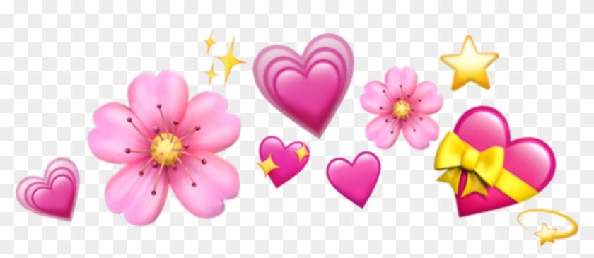 #emoji #crown #hearts #emojis #tumblr #icon Sticker - Heart Emojis Transparent Background Clipart #100871