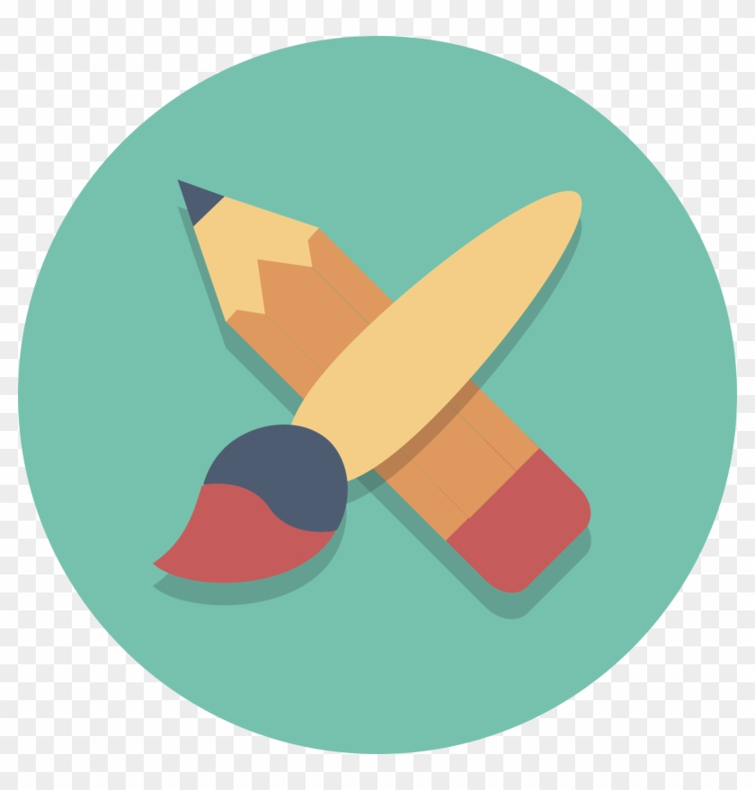 Open - Art Flat Icon Png Clipart #103482