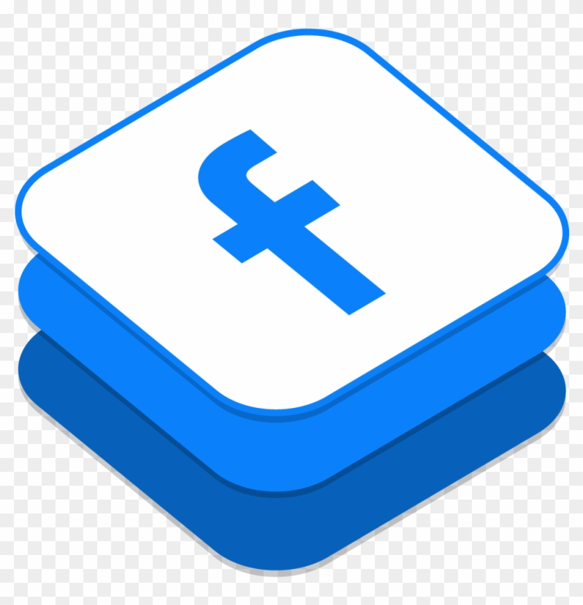 Facebook Icon - Facebook Icon Design Png, Transparent Png #103872