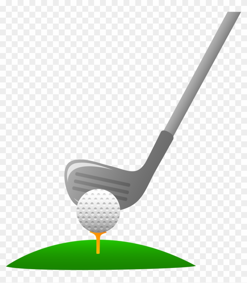 Golf Ball Png - Golf Club And Ball Clipart Transparent Png #105229