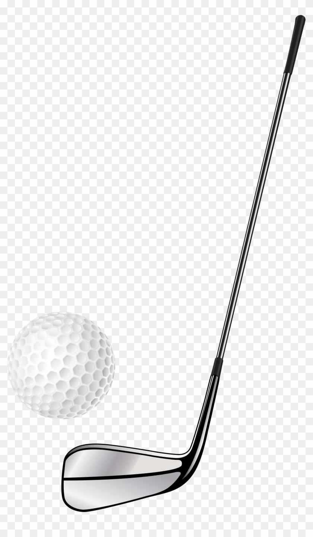 Golf Club And Ball Clipart #105251