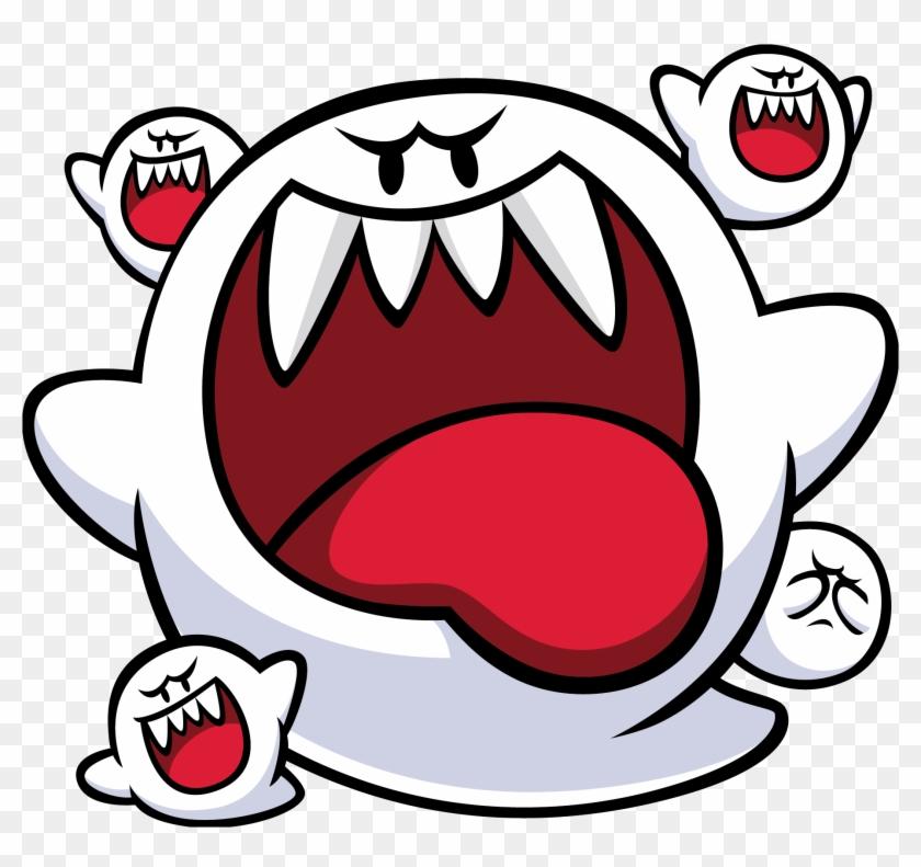 Mario Boo Png Clipart@pikpng.com