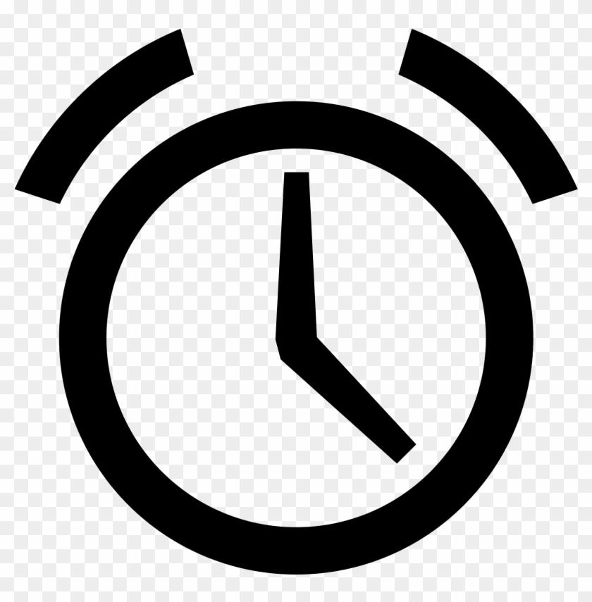 1600 X 1600 6 0 - Alarm Clock Icon Flat Clipart #109004