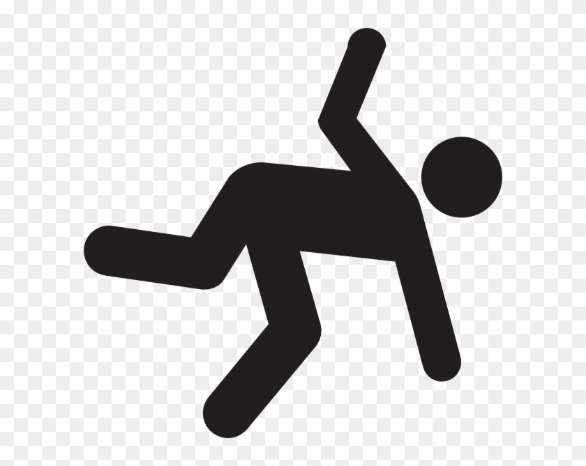 Image Of Person Falling - Stick Figure Falling Png Clipart #1001053