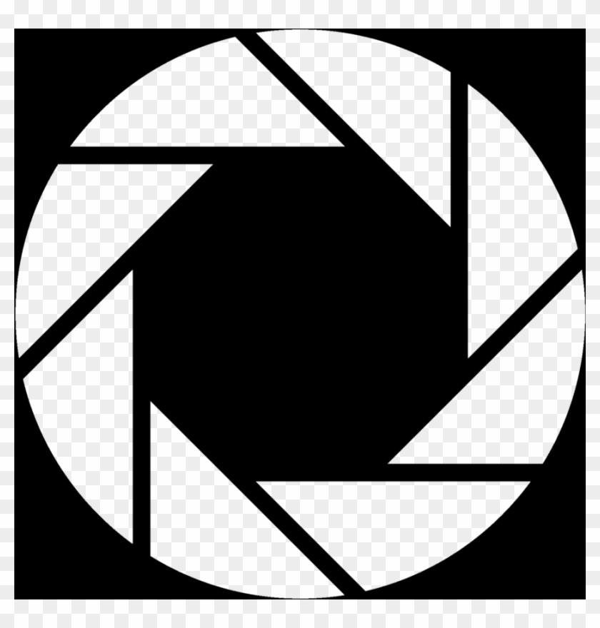 894 X 894 25 - Aperture Science Logo White Clipart #1001059