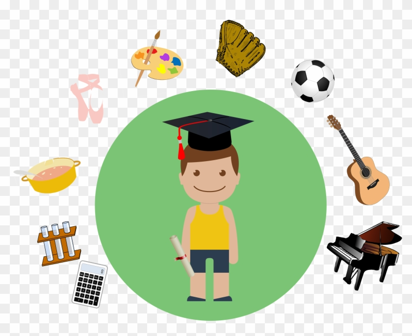 Clip Black And White Download Collection Of Extra Curricular - Extracurricular Activities - Png Download #1007244