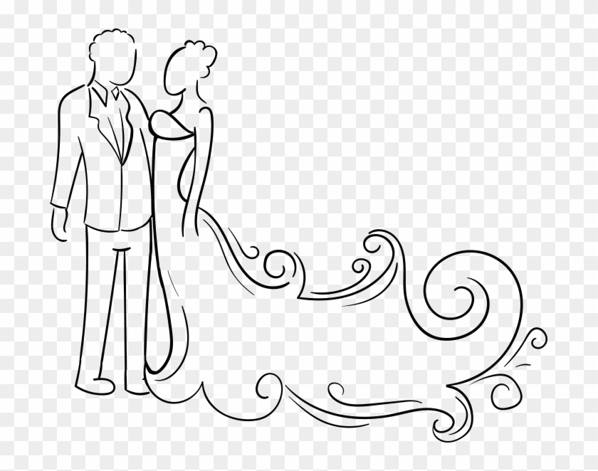 699 X 582 15 - Welcome To Our Wedding Png Clipart #1017388