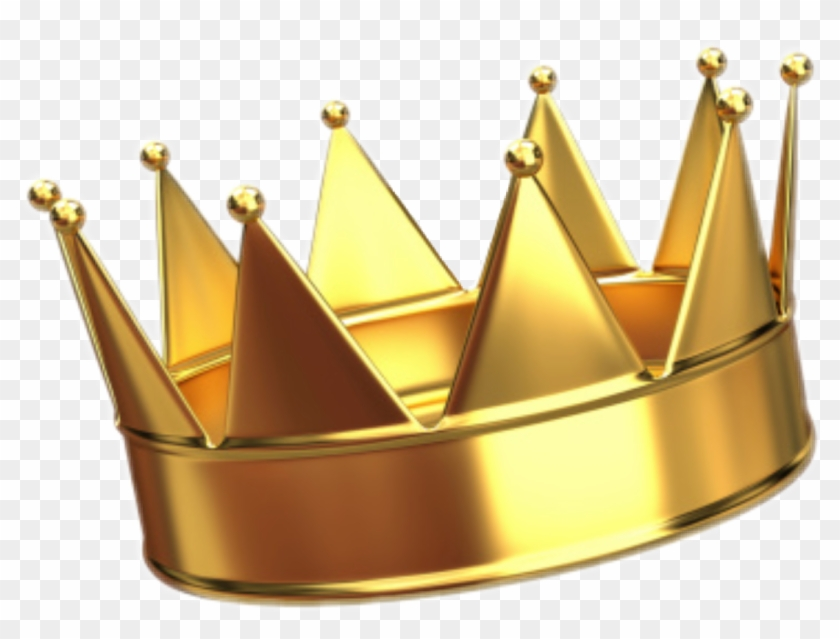 Transparent King Crown - King Crown Sticker Png Clipart #1018313